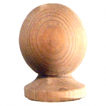 Globe Timber Fence Post Cap